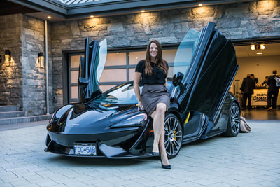 McLaren at the TEN80 Luxury Net Zero Networking Event. Energy efficiency, tesla powerwall, green building, luxury listing for sale.